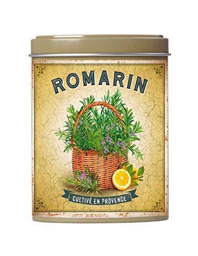 Esprit Provence Rosmarino di Provenza in Lattina di Metallo Ideale per Agnello, Coniglio, Pollame e Verdure - 1 x 25 Grammi