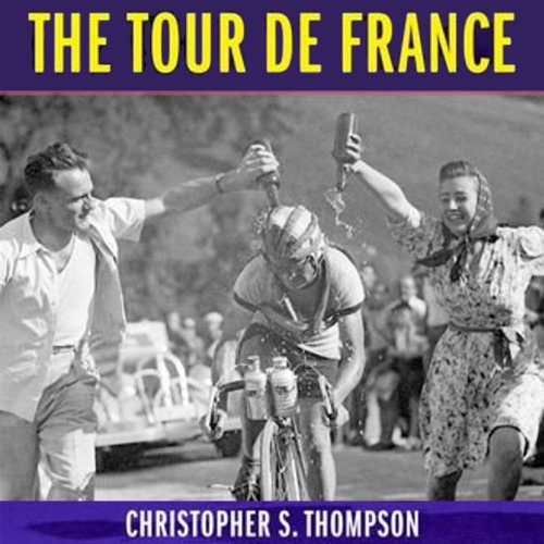 The Tour de France audiobook cover art