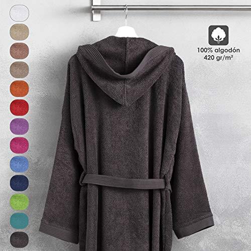 Barceló Hogar 06060011826 Albornoz con capucha, modelo
