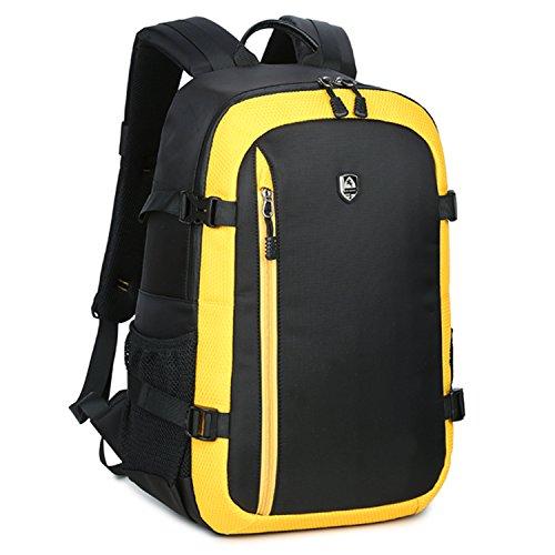 abonnyc professionale fotocamera dslr Zaino Zaino Outdoor Zaino per fotocamera digitale fotografia Borsa a tracolla borse da viaggio zaino Organizer da viaggio per Nikon D610, D750, D7200, D7100, D7000, D5500, D5300, D5200, D3300, D3200, D810A, D810, D800, D600Sonny SLR fotocamere digitali