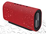 Tracer Rave Red Altavoz Bluetooth Portátil/Speaker Inalámbrico, 20 W, hasta 8 Horas, Micro SD, Jack 3.5mm, Bluetooth 4.2