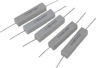 R/ésistance filaire MASO 10 W 5/% de ch/âssis en aluminium pour convertisseur LED