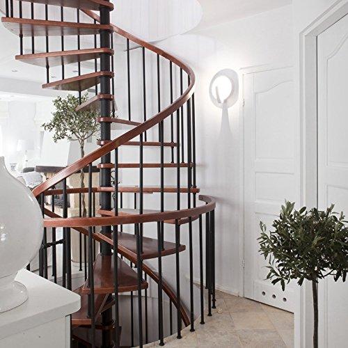 Paris Prix - Applique Murale Moderne Sat 37cm Blanc