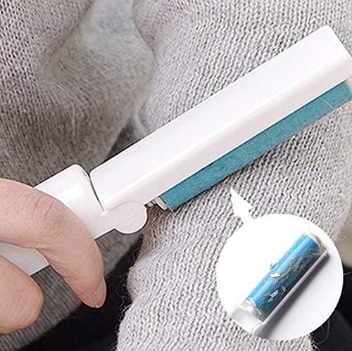 2 Pc Mini Opvouwbare Wasbare Sticker Draagbare Kleding Pet Hair Remover Tapijt Laken Borstel