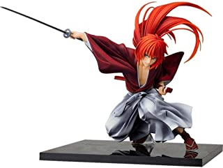 LF-YGJ Estatua de Anime Anime Rurouni Kenshin Figura clásica Himura Kenshin PVC Figura de acción Figura de Anime Juguetes ...