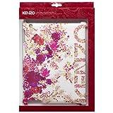 KENZO 【iPad 2/3バックカバーケース】 Back Cover Chiara Collection ホワイト KENZOCHIARAIPAD3B