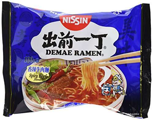 Demae Ramen Spicy Beef 10er Pack ( 10 x 100g)