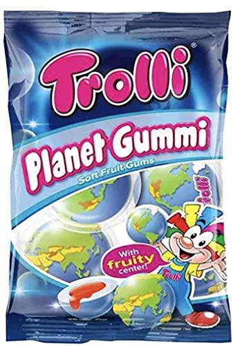 Trolli トローリ 地球グミ プラネットグミ 1袋 75g[並行輸入品]