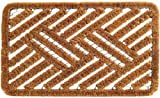 Imports Decor Spiral Doormat, Cross Hatch, 18-Inch by 30-Inch