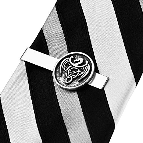 Quality Handcrafts Guaranteed Celtic Dragon Tie Clip