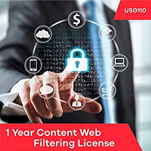Zyxel 1 Year Content Filtering License for USG110 and ZyWALL 110