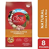Purina ONE Natural Dry Dog Food, SmartBlend Chicken & Rice Formula - 8...