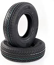 2-pc Set Radial Trailer Tires 225 75 15 10 Ply 225/75r15 15
