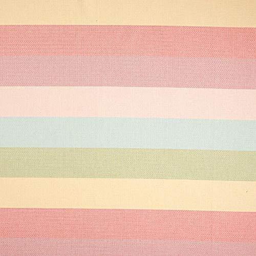 Dekostoff Canvas Dobby – rosa — Meterware ab 0,5m — zum Nähen von Kissen/Tagesdecken, Vorhänge und Homeaccessoires