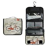 Reino Unido Bicicleta Vieja Bolsa de Aseo Colgante Organizador Cosmético de Viaje Ducha Bolsa de Baño Neceser de Viaje para Maquillaje niñas Mujeres