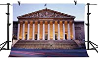 HiYash 9x6ft フランスのランドマーク建築の背景美しい景色、バーボン宮殿の背景画像、誕生日パーティーの赤ちゃんの誕生日の装飾バナー美しい記憶の記録を持つ家の装飾