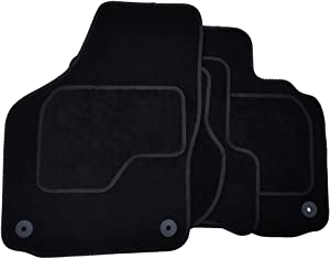 Plain Premium Car Mats 02-21278 Exact Fit Car Mats