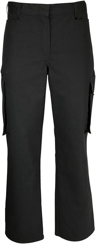Alexandra Workwear Womens New popularity Female Cargo Trousers Black 12 safety - R