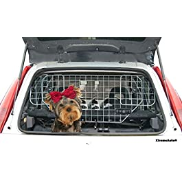 XtremeAuto® Durable Universal Deluxe Heavy Duty Dog Guard Pet Car Barrier Cage Mesh Head Rest Pet Dog Guard