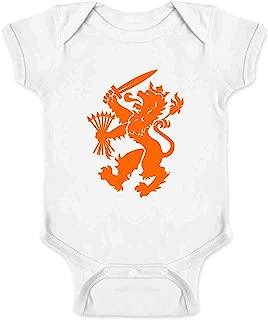 Holland Soccer Dutch Lion National Team Crest Infant Bodysuit