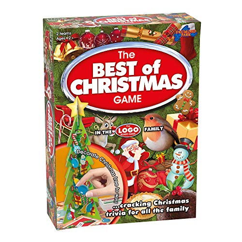 Drumond Park The Best of Christmas Family Board Game - Cracking Christmas Trivia for All the Family | LOGO Family Games For Adults And Kids Suitable From 12+ Years
