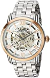 Invicta Men's Objet d'Art Automatic-self-Wind Watch with Stainless-Steel Strap, Silver, 22 (Model: 22628)