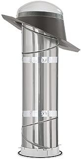 Velux Tmr0100000 Rigid Pitch Flashing Sun Tunnel, Acrylic Dome, 11-1/4