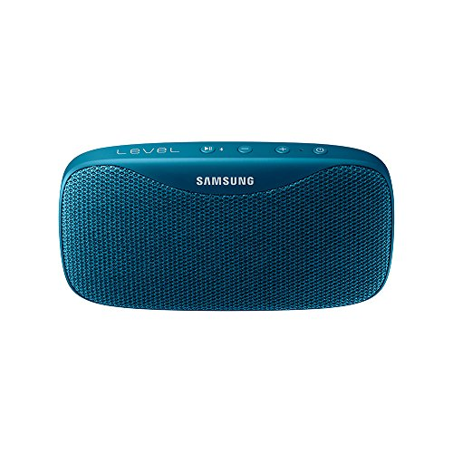 Samsung Level Box Slim - Altavoz portátil inalámbrico Bluetooth, color azul