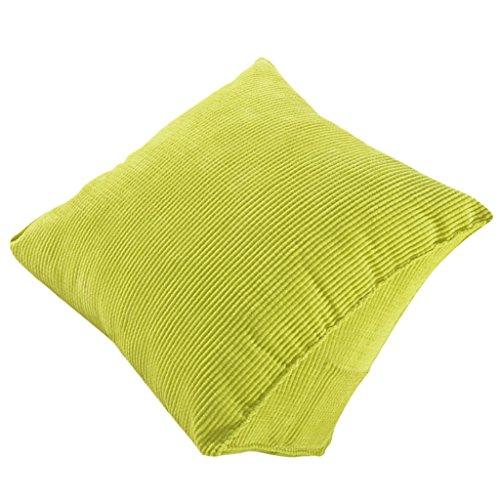 Generic Bequem Kissen Stützkissen Rückenlehne Rückenkissen für Bett Couch Sofa Stuhl Dekor - Grün, 40x36x20cm