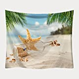 DSman Tapestry,Colgar en la Pared, Paño de Pared decoración Tapiz Playa impresión