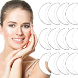 12 Pieces Reusable Silicone Eye Pads Silicone Eye Patches Overnight Silicone Pad for Mouth and Eyes Smile Fine Lines Silicone Pads