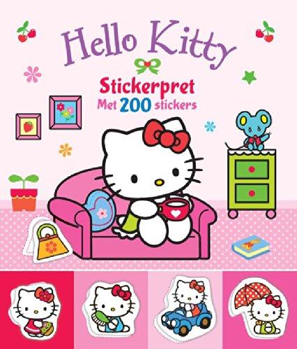Stickerpret met 200 stickers (Hello Kitty)