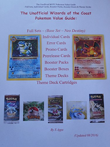 The Unofficial Wizards of the Coast Pokemon Card Value Price Guide (English Edition)