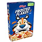 Kellogg's Fat-Free Breakfast Cereal, Frosted Flakes, 13.5 Ounce(Pack of 16)