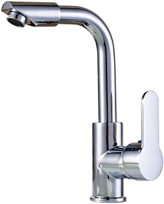 Yuyu19-SLT Wasserhahn Küche Einhebelmischer Spültisch Armatur Küchenarmatur Spültischarmatur Spülbecken Mischbatterie Messing drehbar