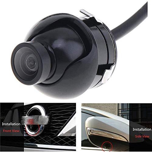 Cámara de visión Frontal Universal Mini CCD HD/Vista Lateral / IP68 cámara de Respaldo de Coche de 360 Grados a Prueba de Agua para DVD de Monitor de estacionamiento