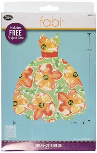 Sizzix Bigz Stanzform, Kleid, von Rachael Bright