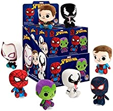 Funko Mystery Mini Plushies: Marvel Spider-Man Collectible Plush Toy Action Figure - 2 PACK BUNDLE