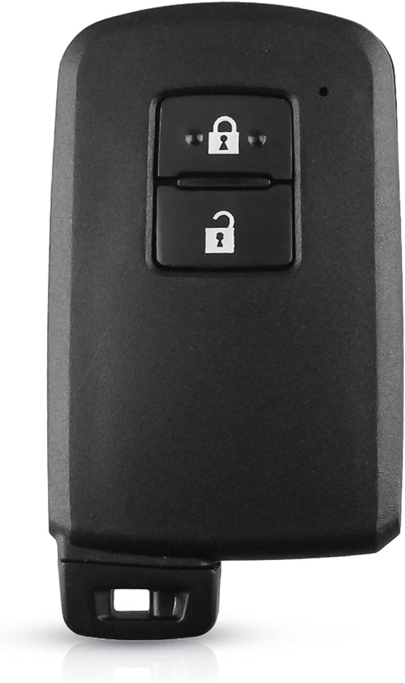 FLJKCT High order Replacement 2 Buttons Smart Remote for Car Key Case Shell Max 80% OFF