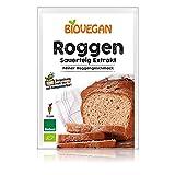 Biovegan Bio Roggensauerteig-Extrakt, Trockensauerteig-Pulver für leckeres Roggenbrot, vegan und glutenfrei,...