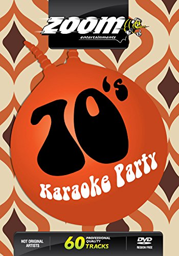 Zoom Karaoke DVD - Seventies Karaoke Party (70\'s) - 60 Songs