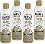 Faultless Premium Luxe Spray Starch (20 Oz, 4 Pack) Spray Starch for Ironing that Makes Your Clothes New Again, Use as a Spray on Starch that Reduces Ironing Time with No Flaking, Sticking or Clogging
