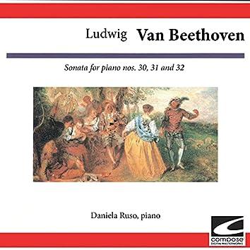 Ludwig van Beethoven: Sonata for piano No. 30, 31 and 32