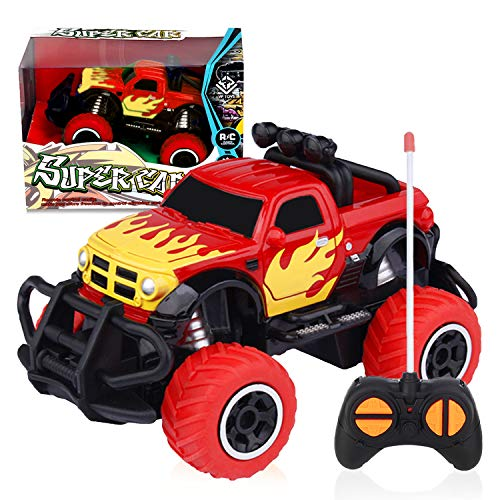 LOFEE Car Toy for 3-8 Years Old Boys, 2.4G Remote Control Car 2019 New Toy for Kids Birthday Gift for 3-5 Years Old Boys RC Turck for 3-9 Years Old Present for 5 Years old Girl