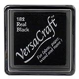 Versacraft vks-18225x 25mm Small Fabric Cube Inkpad, Real Black