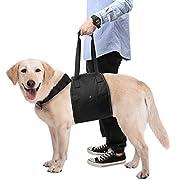Veuillez mesurer votre animal de compagnie avant l'achat. AMÉLIORER LA MOBILITÉ: Idéal pour les chiens vieillis,handicapés,blessés qui ont besoin d'aide avec l'équilibre et la mobilité, et idéal pour la réadaptation après les chirurgies orthopédiques...