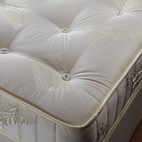 Orthopaedic Open Coil Spring, Happy Beds Ortho Classic Medium Tension Mattress - 3ft Single (90 x 190 cm)