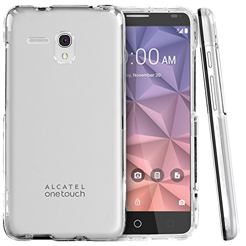 Alcatel One Touch Fierce XL 5054N  16GB  Unlocked GSM 4G LTE Smartphone  Black amp Silver  Renewed