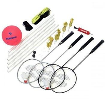 Sportcraft Good Badminton and Volleyball Set