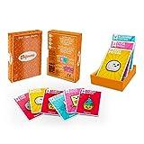 Chifoumi - Juego de cartas (versión Kawaii) de piedra de hoja con tijeras – 54 cartas – Juego original para jugar en duel o a varios en familia o entre amigos – El juego favorito de los niños